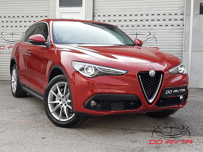 Alfa Romeo Stelvio Q4 2.2 Diesel Super Avt. (209ks), 2017, 70tKM, 03-2020