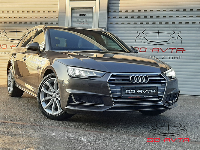 Audi A4 Avant 2.0 TDI Quattro S-Line Design S-Tronic (190ks), 2016, 100tKM, 01-2020