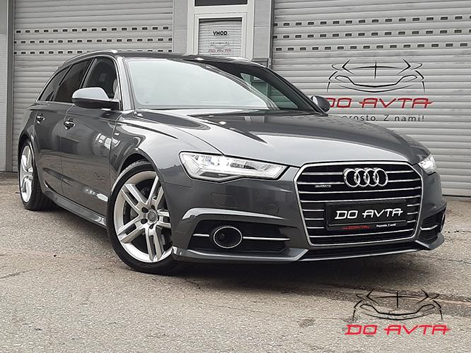 Audi A6 Avant 3.0 TDI Quattro S-line S-Tronic (272ks), 2015, 135tKM, 02-2020