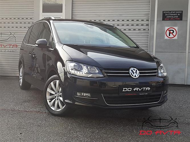 Volkswagen Sharan 2.0 TDI BMT Highline DSG (183ks), 2016, 105tKM, 01-2020