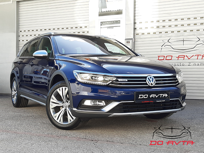 Volkswagen Passat Alltrack Variant 2.0 TDI 4Motion DSG (190ks), 2018, 98tKM, September 2019