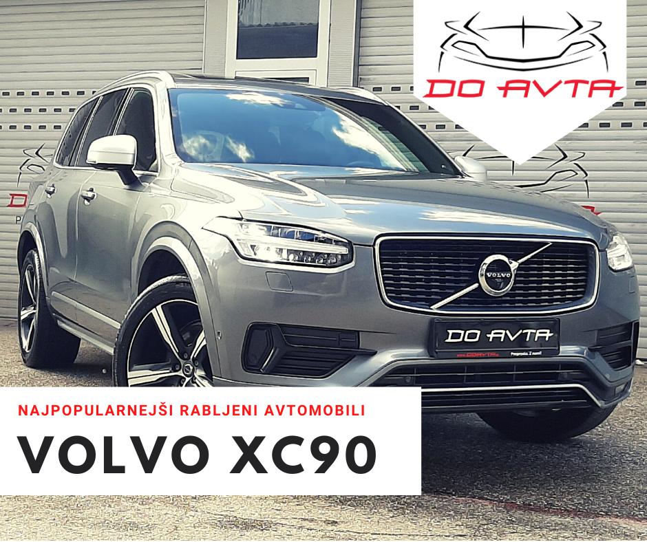 NAJPOPULARNEJŠI RABLJENI AVTOMOBILI: Novi Volvo XC90