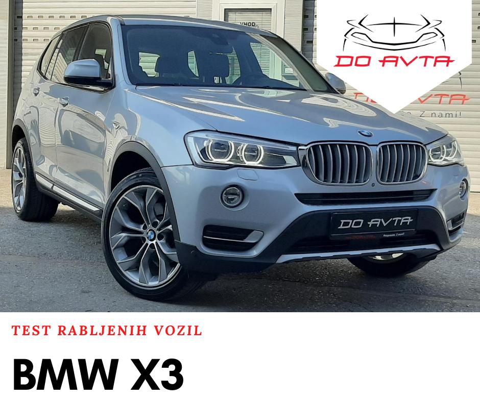 Najpopularnejši rabljeni avtomobili: BMW X3