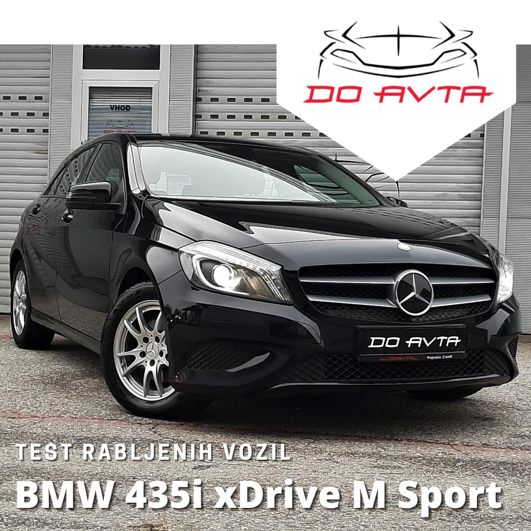 TEST rabljenih avtomobilov: Mercedes-Benz A200 CDI 7G DCT – luksuzni del golfovega segmenta