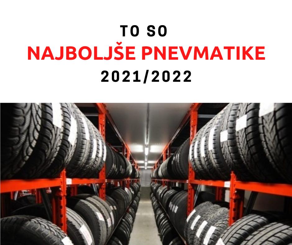To so najboljše zimske pnevmatike 2021/2022
